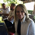 Dr. Molly Snell at the Tides Patio Bar