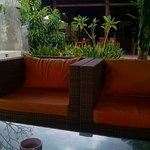 lounge opposite to the restaurant