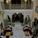 Majestic court of the Riad