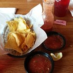 Chips and salsa were good