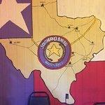 Love the Texas decor!