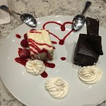 Raspberry Torte & Chocolate Almond Torte - Winter 2016 Menu