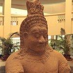 Angkor National Museum statue (Asura demon)