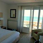 chambre avec terrasse & vue sur mer