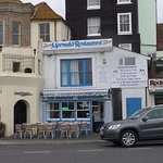 Stuck for a place to eat in Hastings, then you must try The Mermaid's fish and chips. Great serv