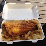 Plaice & Chips