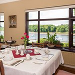 Enjoy a 15 choice breakfast menu with stunning view overlooking the River Moy and Belleek Woods