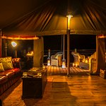 Enjoy a glowing glamping experience with our new LED lights! Dark nights are no more!