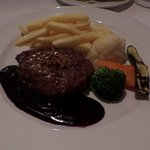 Ostrich steak - delicious and so tender