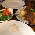 Sunday afternoon with a Sunday roast platter 😋😋😋