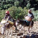 Local Basotho we met on hike