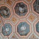 Plafond aux cygnes