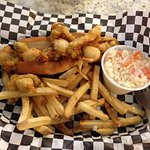 THE BEST clam roll ever! Perfect cole slaw, and well cooked fries.