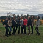 We were 9 women spending the weekend in Willamette Valley. The Equestrian Wine Tour was the high