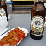Currywurst og øl