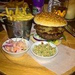 The Hog Roast burger!