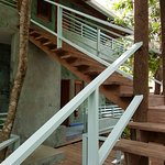 Staircase to your island haven.