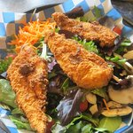 chicken strip salad