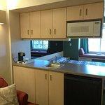 Kitchenette(Fridge/Microwave/Sink) at Mariner's Village Carlyle, IL