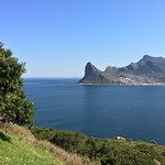 View over Hout Bay and Lion's Head from Chapman's Peak Drive