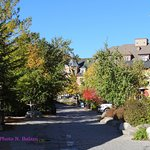Blue Mountain village path
