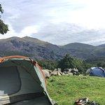 Camping in Llanberis - Llwyn Celyn Bach
