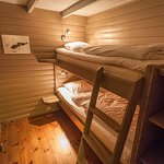 """cabin 4 """"Willy-bua"""" - one of the bedrooms"""