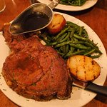 Roast Prime Rib with au jus King Cut (inferior quality)