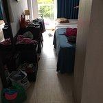 Minimal floor space