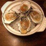 Barnstable oyster tomato • thai chili • finger lime