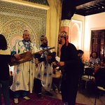 Music provided by Morocco-traveldreams tourist agency at the Riad