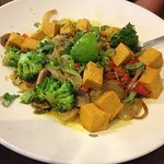 Veggie curry bowl yum!!