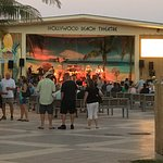 Evening at the Hollywood Boardwalk - free concerts.