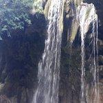 one of the water falls at Panta Verehi