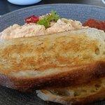 Chilli scrambled eggs