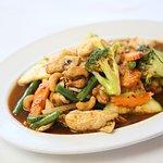 Cashew Nut Chicken at Sky Thai Avalon Best Thai in Avalon Beach