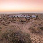 prince desert camp view