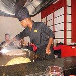 Wok Restaurant cooking show