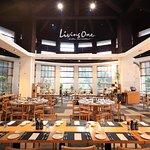 LivingOne 明達館餐廳照。