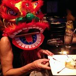 Asian masks help to make the celebration even more special !