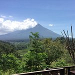 The view....Mount Agung