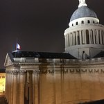 View from the room (Montmartre in the distance!)