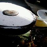 Lody kokosowe podane w kokosie