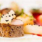 Polędwiczka wieprzowa sous-vide z sosem śliwkowym / Pork sirloin sous-vide with plum sauce