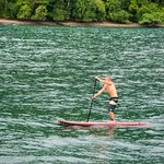 Stand-Up Paddleboards are available for free discovery of the cove and mangroves.