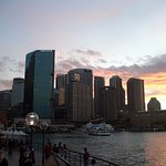 a view on circular quay+Sydney's sky skrapers