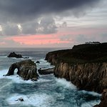 Sunset at Lands End, Cornwall
