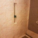 Roomy shower junior suite rainhead & normal shower head