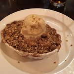 Upstairs Bistro - apple cobbler dessert
