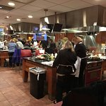 Upstairs Bistro - cooking class in session